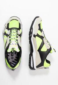 GAS Footwear - WISTOON - Trainers - white/neon yellow - 1