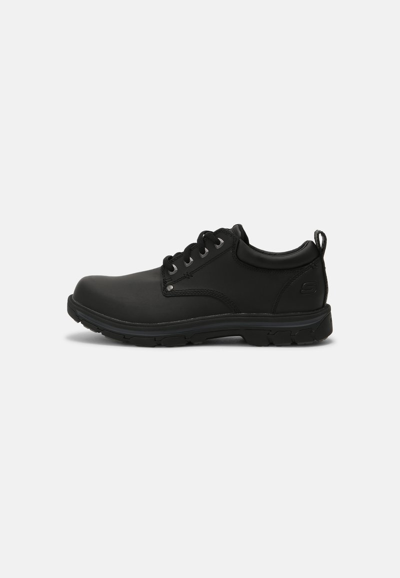Skechers - SEGMENT RILAR - Casual lace-ups - black