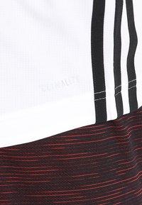 adidas Performance - 3STRIPES AEROREADY SLEEVELESS T-SHIRT - Funktionströja - white - 5