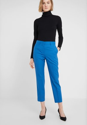 Trousers - electric blue