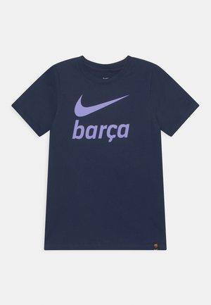 FC BARCELONA CLUB TEE - Club wear - obsidian