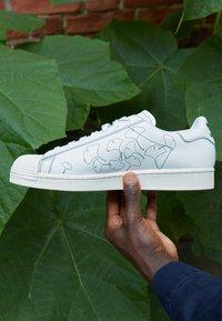 adidas Originals - SUPERSTAR PURE - Trainers - footwear white/core white - 2