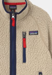 Patagonia - BOYS RETRO PILE - Fleece jacket - beige - 2