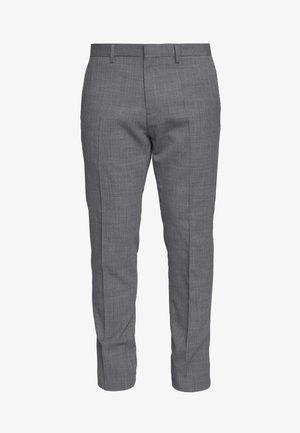 SLIM FIT FLEX PANT  - Suit trousers - grey
