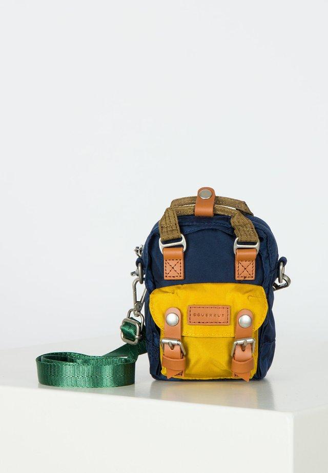 MACAROON TINY - Rucksack - navy/mustard