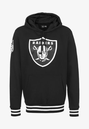 NFL LAS VEGAS RAIDERS  - Felpa con cappuccio - black