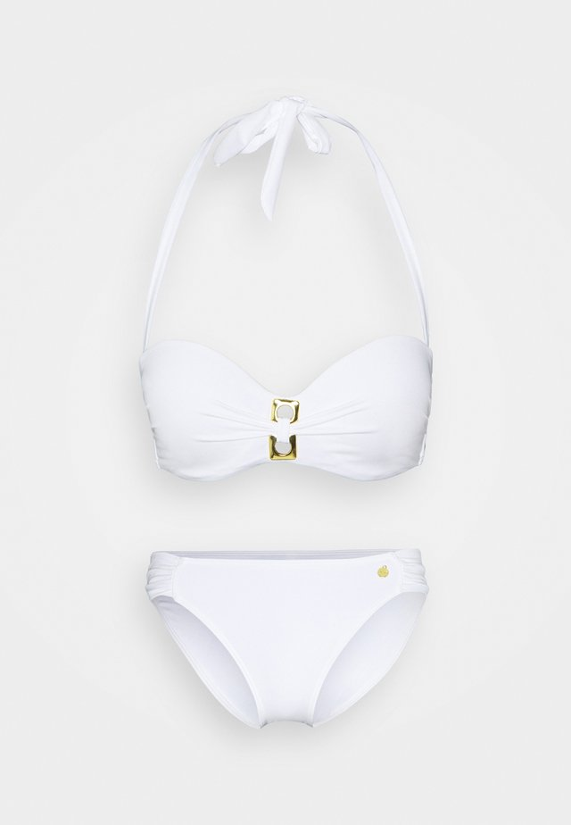 WIRE BAND SET - Bikini - white