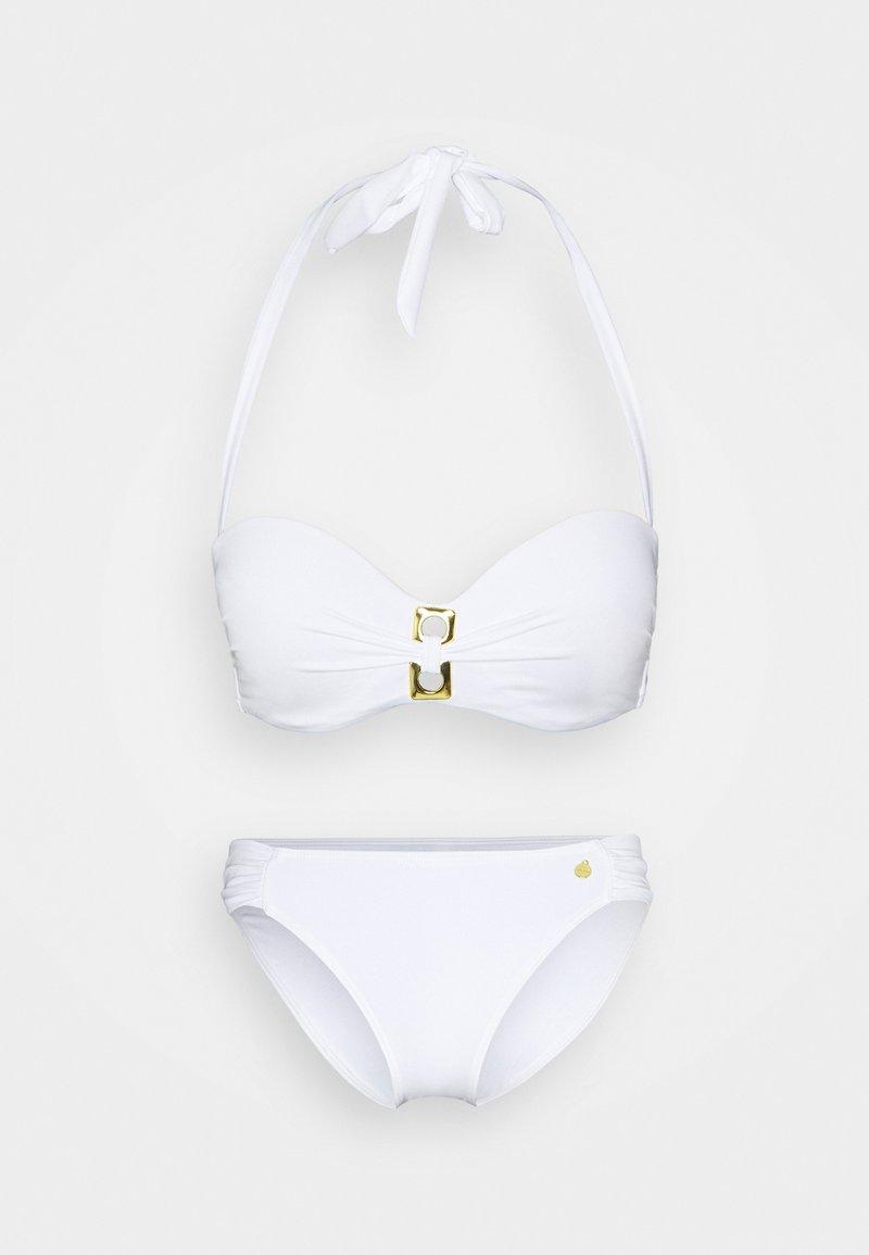 LASCANA - WIRE BAND SET - Bikini - white