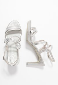 Marco Tozzi - High heeled sandals - silver - 3