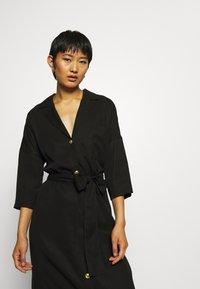 Twist & Tango - ALBA DRESS - Košilové šaty - washed black - 3