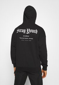 Jack & Jones - JORSTRAY HOOD - Sweatshirt - black - 2