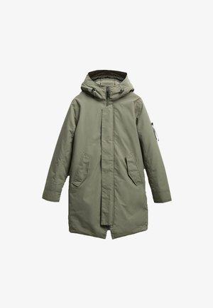 GUNTER - Winter coat - castor green