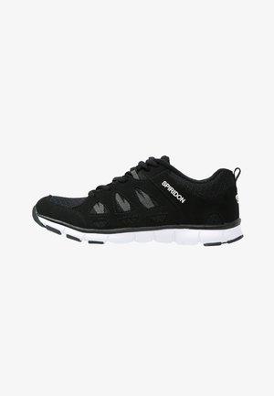 SPIRIDON FIT - Sports shoes - schwarz/weiß