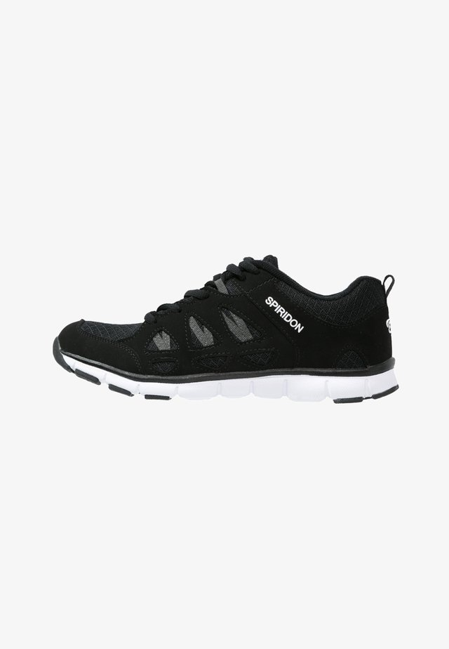 SPIRIDON FIT - Sports shoes - schwarz/weiß