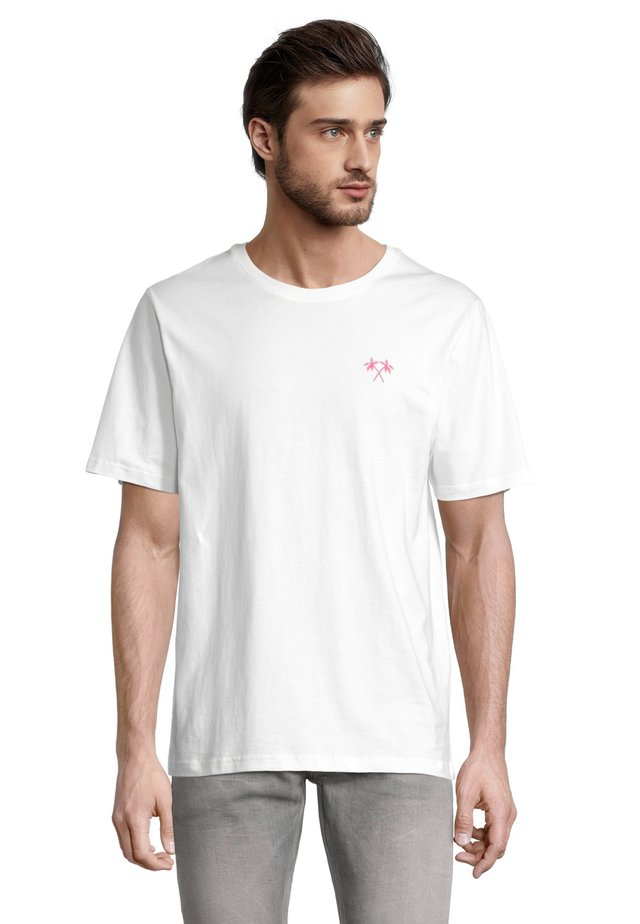 PALME - T-shirt con stampa - offwhite