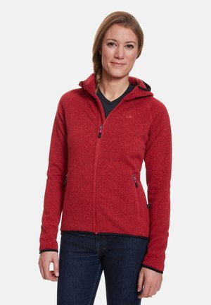 GLORIA - Fleecejacke - red