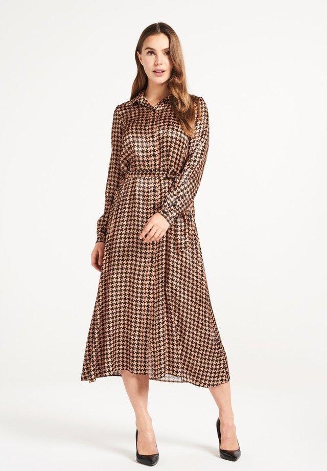 AURELIE  - Shirt dress - brown