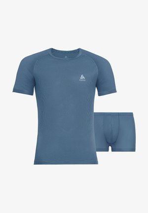 CUBIC SET - Undershirt - rauchblau
