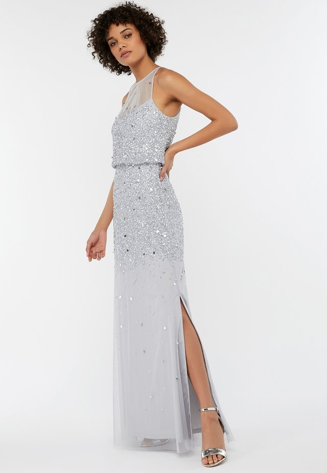 TONI - Maxi dress - silver