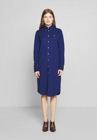 Polo Ralph Lauren - OXFORD - Shirt dress - holiday navy - 0