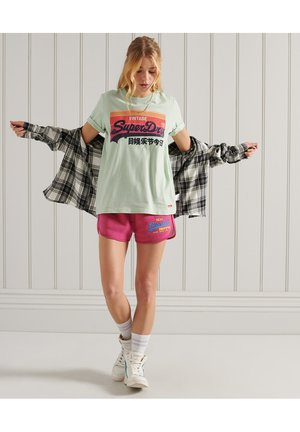 VINTAGE - Print T-shirt - pastel green