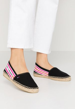 CHUNKY TAPE ESPADRILLE - Loafers - black