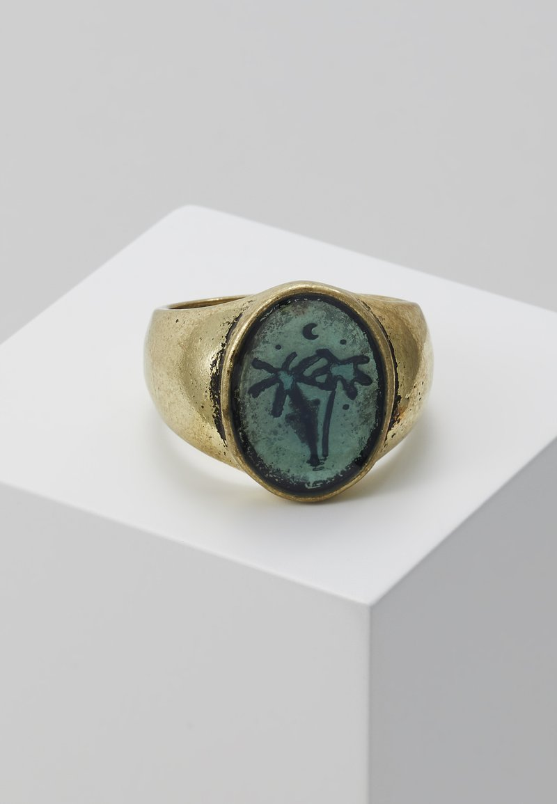 Classics77 - WASH OUT SIGNET - Ring - gold-coloured