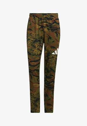 3 BAR CAMOUFLAGE DESIGNED4TRAINING PANTS - Spodnie treningowe - green