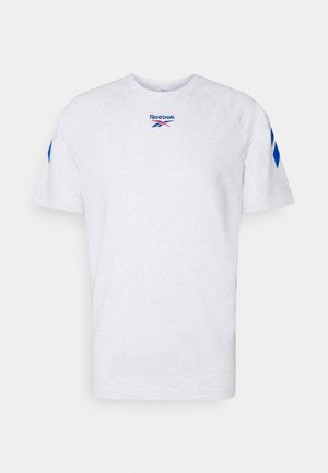 TWIN VECTOR TEE - T-shirt con stampa - white
