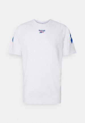 TWIN VECTOR TEE - Print T-shirt - white