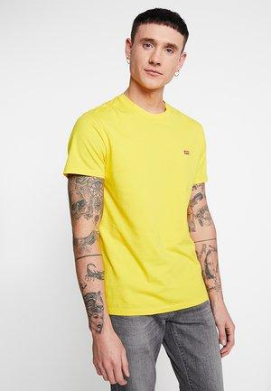 ORIGINAL TEE - T-paita - brilliant yellow