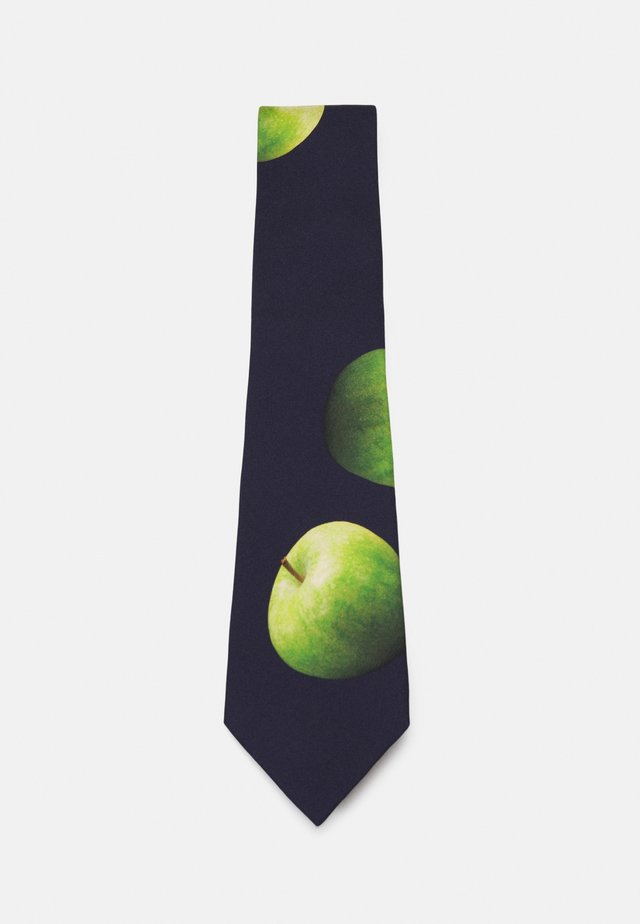 TIE APPLE - Cravate - black
