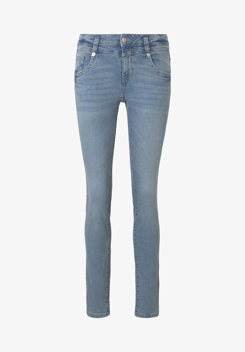 TOM TAILOR - JEANSHOSEN ALEXA SLIM JEANS - Slim fit jeans - light stone wash denim