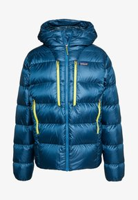 Patagonia - FITZ ROY HOODY - Down jacket - crater blue - 4
