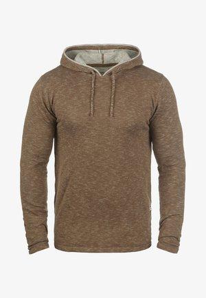 MURRAY - Sweat à capuche - teak brown