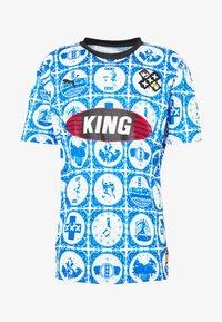Puma - AMSTERDAM - T-Shirt print - royal - 3