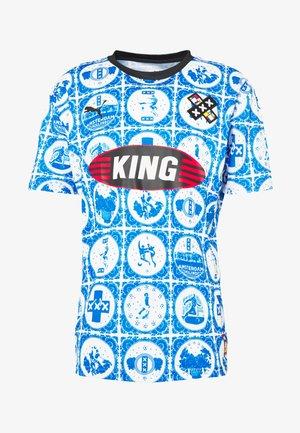 AMSTERDAM - T-shirt med print - royal