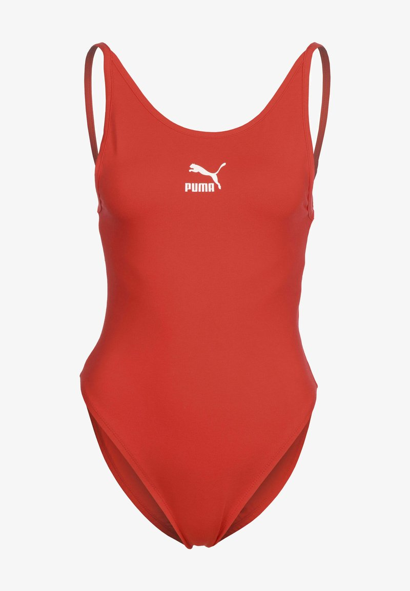 Puma - CLASSICS SLEEVELESS BODY - Top - poppy red