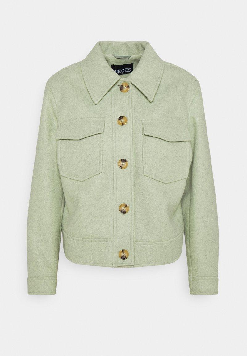 Pieces - PCGINA JACKET - Summer jacket - desert sage