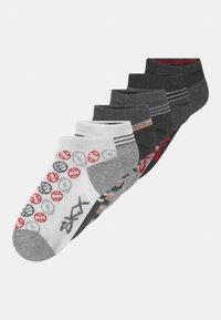 Skechers - BOYS SEASONAL SNEAKER 6 PACK - Socks - light grey - 0