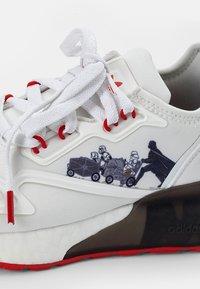 adidas Originals - BOOST - Sneakers basse -  white/scarlet/core black - 5