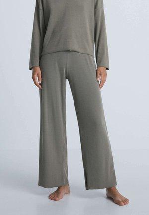 COMFORT RIB - Pantaloni del pigiama - light brown