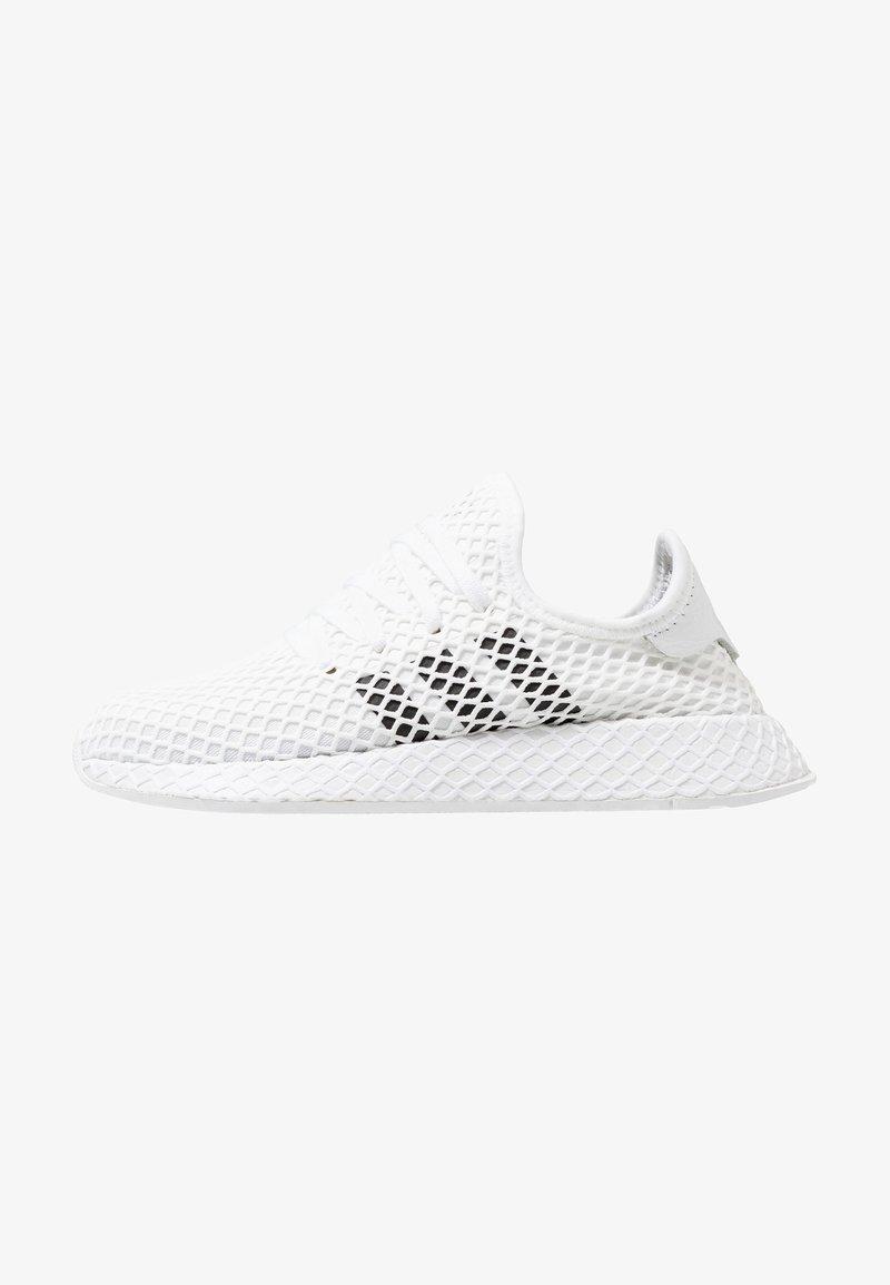 adidas Originals - DEERUPT RUNNER - Trainers - footwear white/core black/grey two