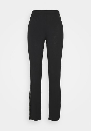 PANTS - Pyjamabroek - black