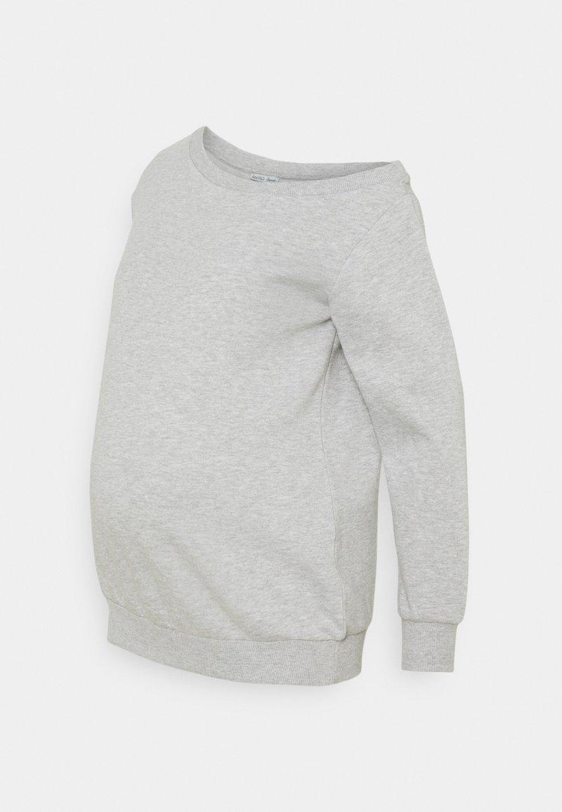 Anna Field MAMA - Sweatshirt - light grey