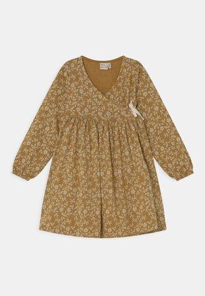MEADOW WRAP DRESS - Jersey dress - golden yellow