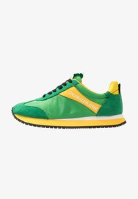 multicolor/green