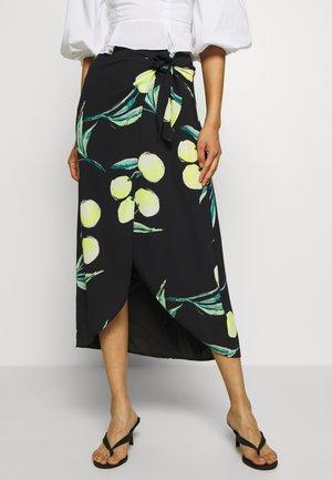 SARONG SKIRT - A-line skirt - black