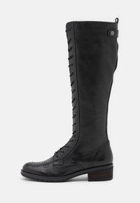 Gabor - Šněrovací vysoké boty - schwarz - 1
