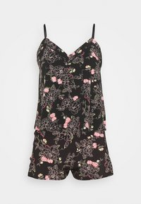 Marks & Spencer London - FLORAL CAMI - Pyjamas - black mix - 5